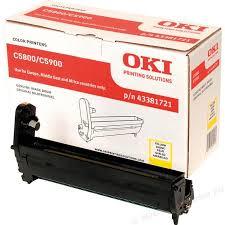 Kit Fotoconductor Yellow OKI pentru C5800/C5900 20K