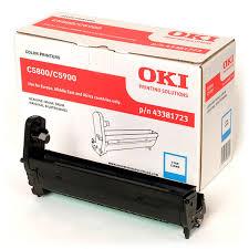 Kit Fotoconductor Cyan OKI pentru C5800/C5900 20K