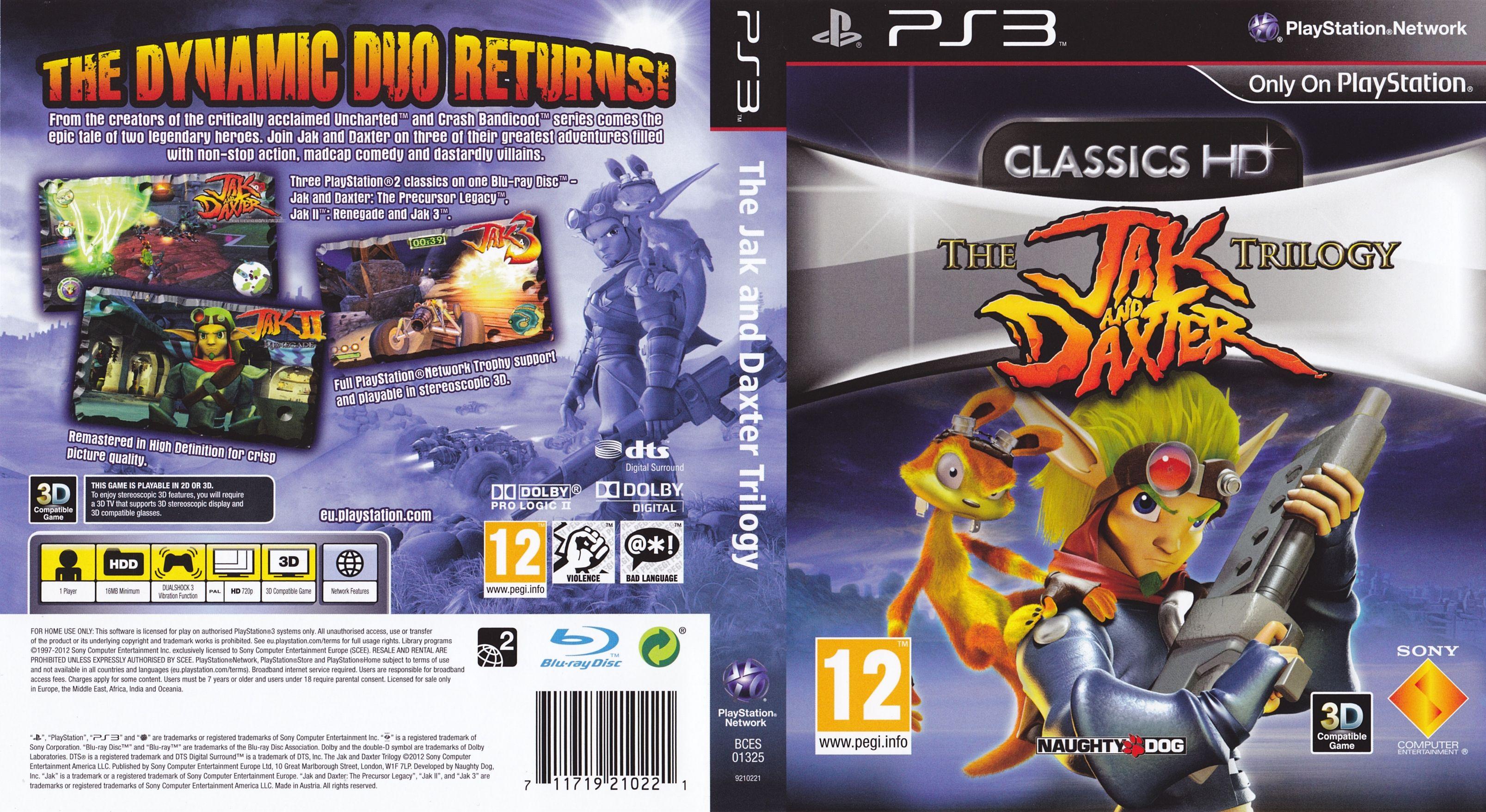 Jak & Daxter Trilogy PS3