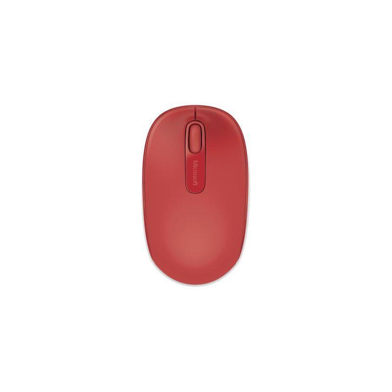 Mouse Microsoft Wireless 1850 Red U7Z-00033