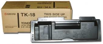 Cartus toner Black KyoceraTK-18 pentru FS1020series/ FS1018 MFP FS1118MFP 7.2K