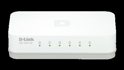 Switch D-Link GO-SW-5E fara management fara PoE 5x100Mbps-RJ45
