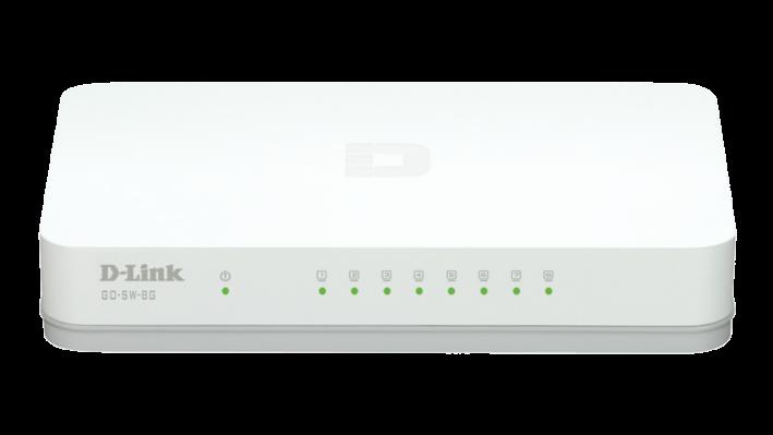 Switch D-Link GO-SW-8G fara management fara PoE 8x1000Mbps-RJ45
