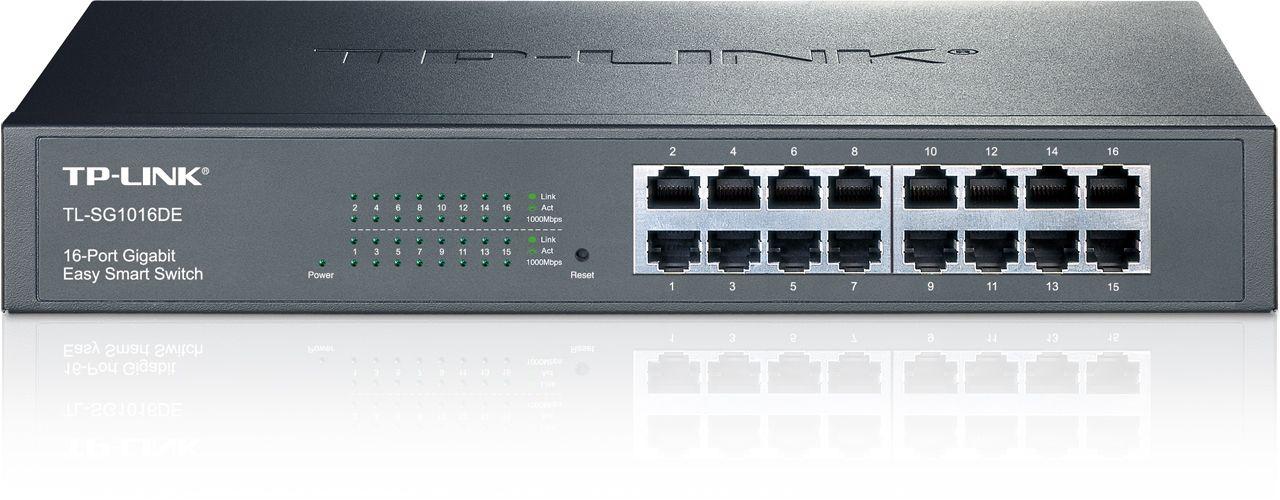Switch Tp-Link TL-SG1016DE cu management fara PoE 16X1000Mbps-RJ45