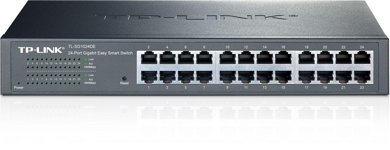 Switch Tp-Link TL-SG1024DE cu management fara PoE 24X1000Mbps-RJ45