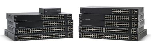 Switch Cisco SG200-50FP cu management cu PoE 48x1000Mbps-RJ45 (PoE) + 2x1000Mbps-RJ45 (2xSFP)