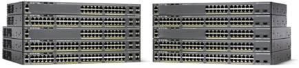 Switch Cisco CATALYST 2960-X cu management fara PoE 24x1000Mbps-RJ45 + 2xSFP