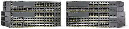 Switch Cisco CATALYST 2960-X cu management cu PoE 24x1000Mbps-RJ45 (PoE) + 2x1000Mbps-RJ45 (sau 2xSFP)