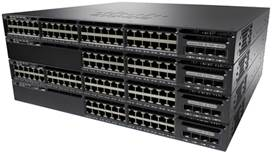Switch Cisco CATALYST 3650 cu management fara PoE 24x1000Mbps-RJ45 + 2x10Gigabit SFP