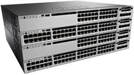 Switch Cisco CATALYST 3850 cu management cu PoE 48x1000Mbps-RJ45 (PoE)