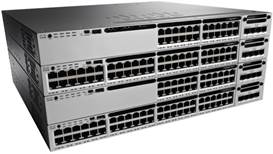 Switch Cisco CATALYST 3850 cu management fara PoE 24xSFP
