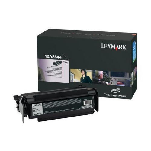 Cartus toner Black Lexmark 12A8644 pentru T430 12K