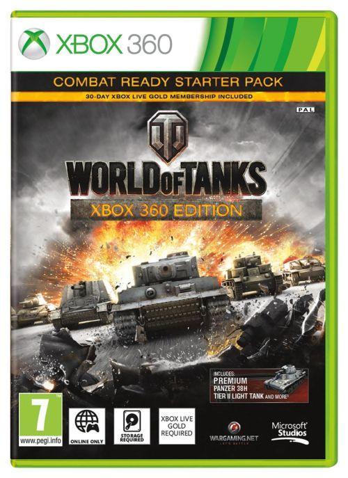 World of Tanks: Combat Ready Starter Pack Xbox 360