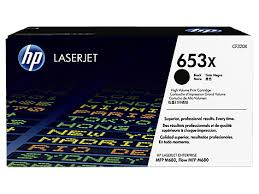 Cartus toner Black HP 653X High Yield 20K