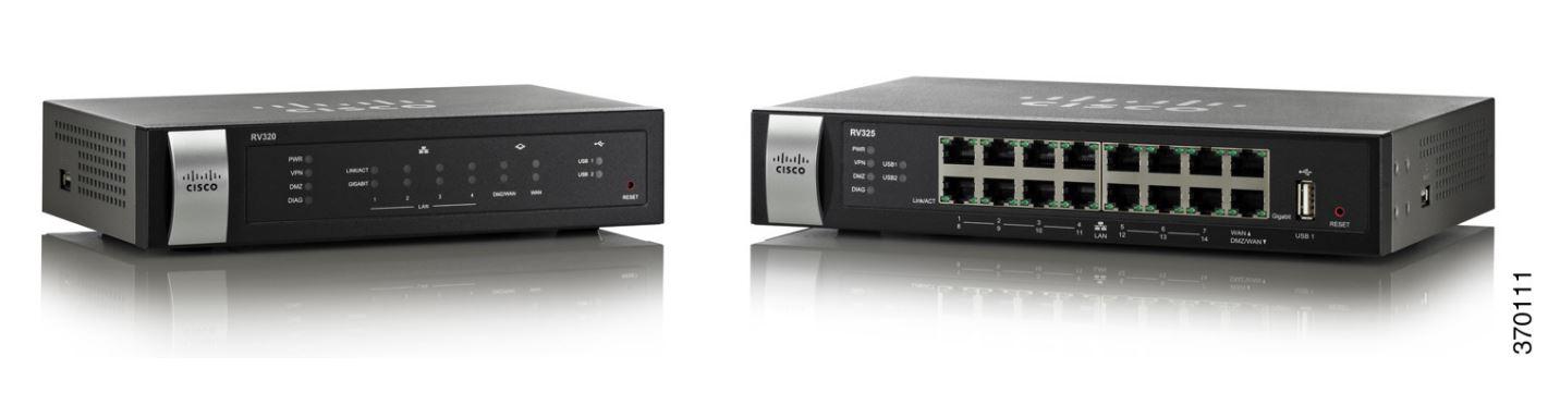 Router Cisco RV325 WAN: 2xGigabit fara WiFi