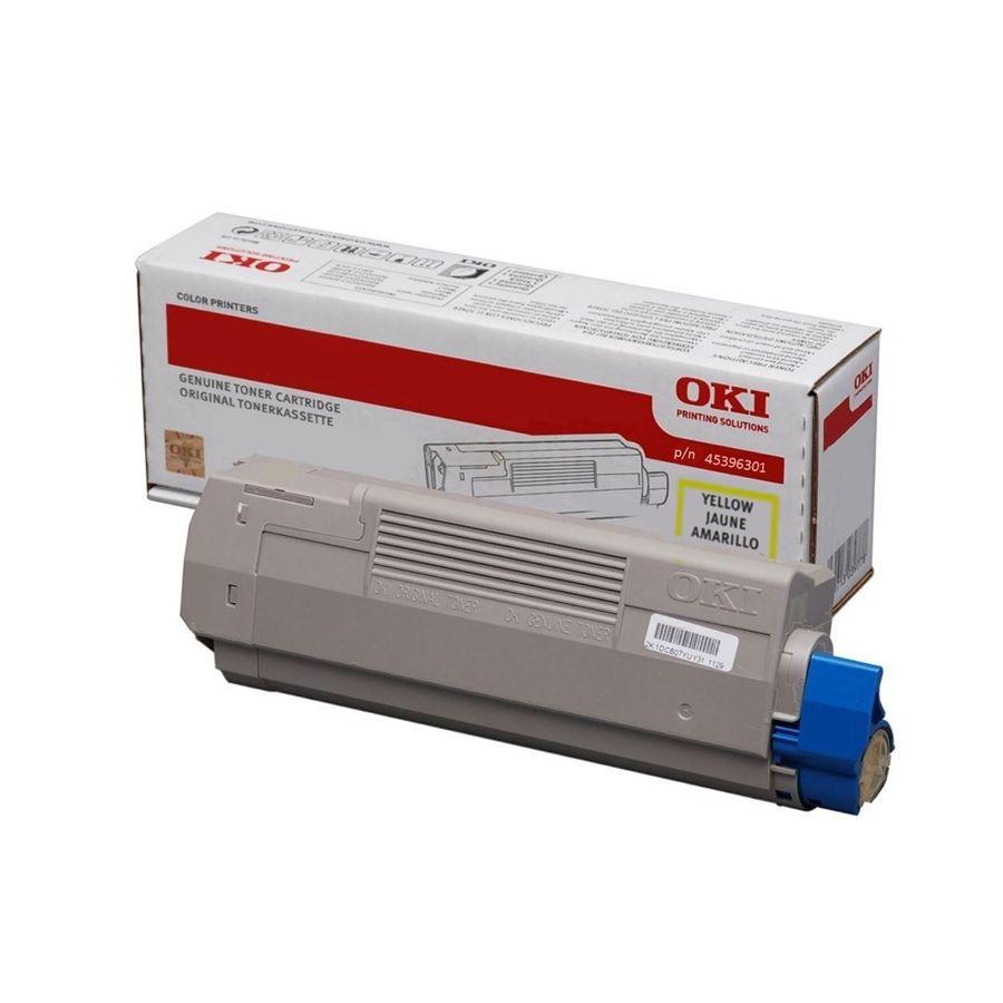Toner Oki pentru MC760/MC770/MC780 6K Yellow