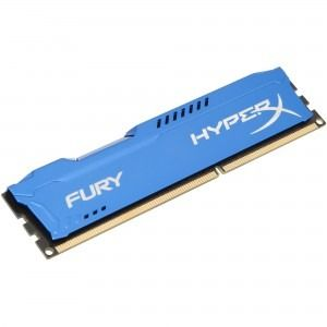Memorie Desktop Kingston HyperX Fury Blue 4GB DDR3 1600 MHz CL10