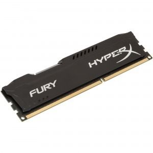 Memorie Desktop Kingston HyperX Fury Black 8GB DDR3 1600 MHz CL10