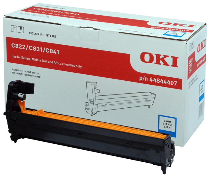 Kit Fotoconductor Oki 44844407 Cyan 30000 pag.
