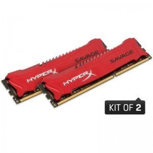 Memorie Desktop Kingston HyperX Savage 8GB DDR3 1600MHz CL9 Dual Channel Kit