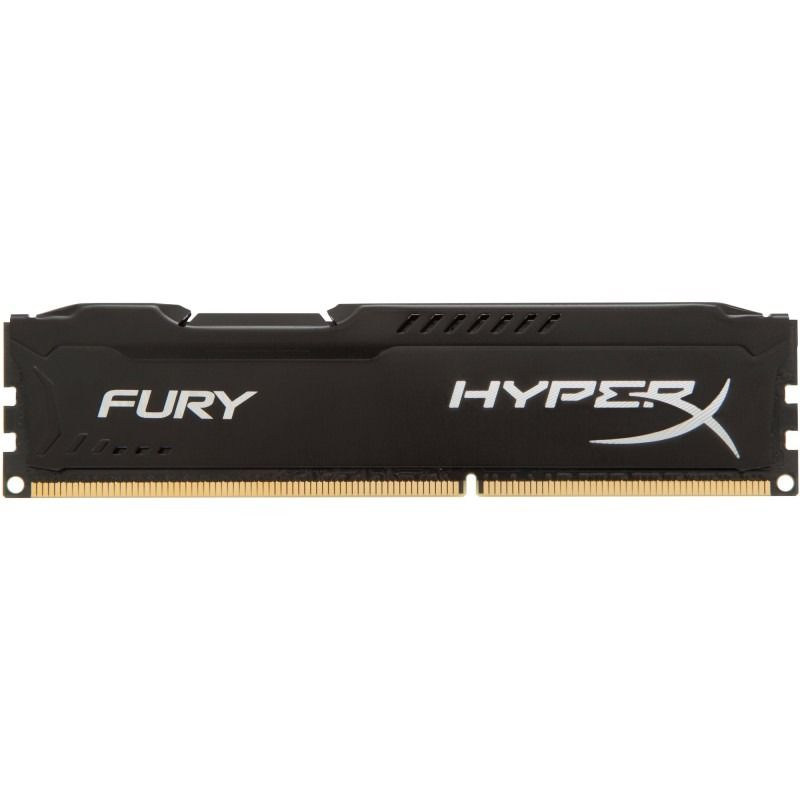 Memorie Desktop Kingston HyperX Fury Black 8GB DDR3 1866 MHz CL10
