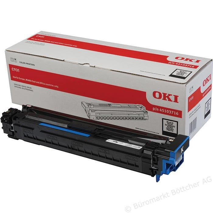 Kit Fotoconductor Oki 45103716 Black