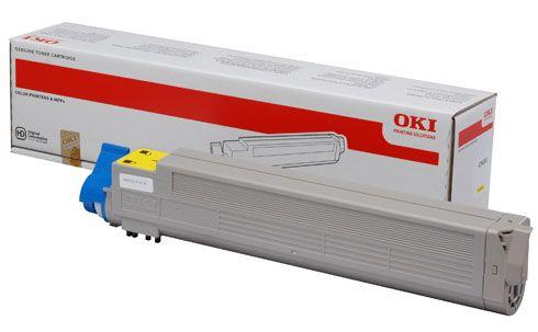 Cartus Toner Oki C9655 Yellow
