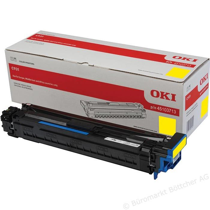 Kit Fotoconductor Oki 45103713 Yellow 40000 pag.