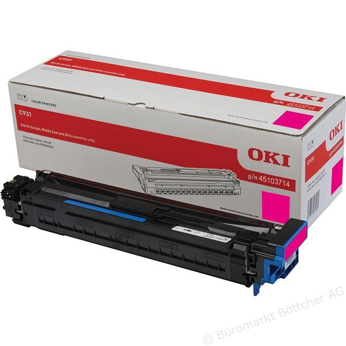 Kit Fotoconductor Oki 45103714 Magenta 40000 pag.