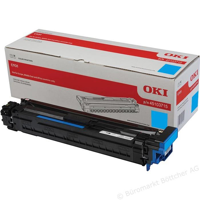 Kit Fotoconductor Oki 45103715 Cyan