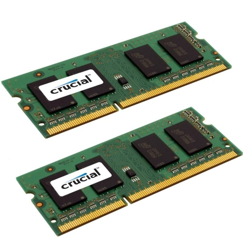 Memorie Notebook Micron Crucial DDR3-1600 8GB (2x4GB)