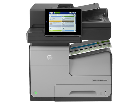 Multifunctional Inkjet HP Officejet Enterprise Color MFP X585dn