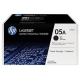 Cartus Toner Black HP 05A , 2-pack,2x2.3K