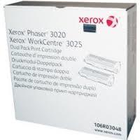 Cartus Toner Xerox pentru Phaser 3020 2x1.5k Black