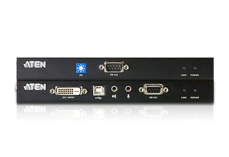 Extender semnal Aten CE600 tip semnal video: DVI-D - DVI-D distanta semnal: 60m
