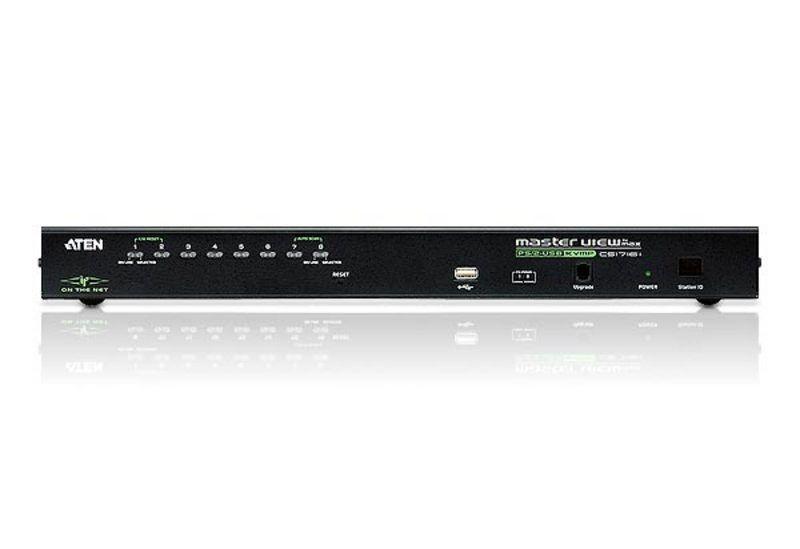 Switch KVM over IP Aten CS1708I nr de calculatoare conectate: 8 rezolutie: 1600x1200