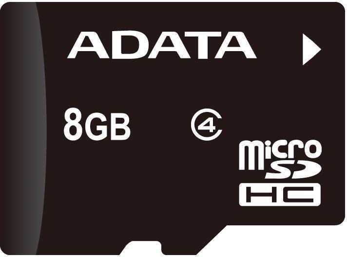 Card Memorie A-Data MicroSDHC 8GB Class 4