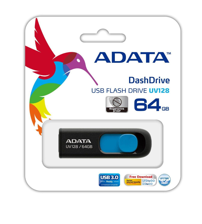 Flash Drive A-Data UV128 64GB USB 3.0