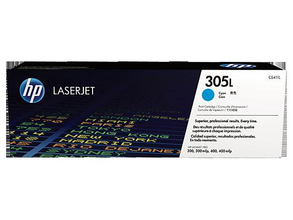 Cartus Laser Cyan HP305L Economy 1.4K pentru Pro M375/475/451 series