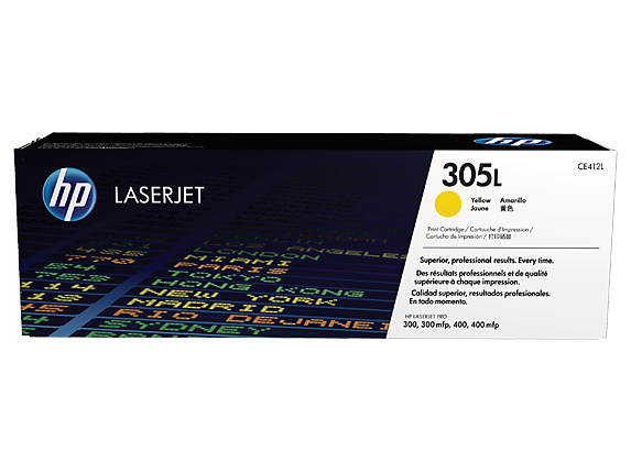 Cartus Laser Yellow HP305L Economy 1.4K pentru Pro M375/475/451 series