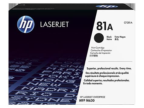 Cartus Laser Black HP 81A 10.5K