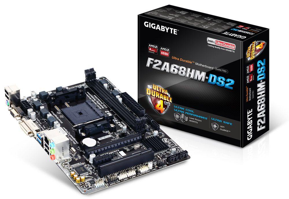 Placa de baza Gigabyte F2A68HM-DS2 socket FM2+