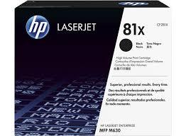 Cartus Laser Black HP 81X 25K pentru MFP M630