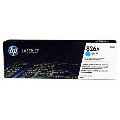 Cartus Laser Cyan HP 826A 31 5Kpentru M855