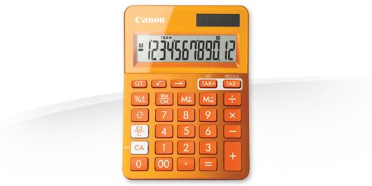 Calculator Birou Canon LS-123K-MOR Emea Dbl Orange
