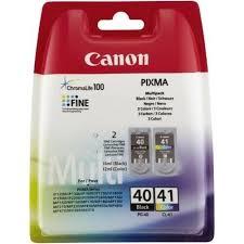 Pachet cartuse Inkjet Canon PG40+CL41