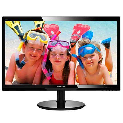 Monitor LED Philips 246V5LHAB/00 24 Full HD Negru