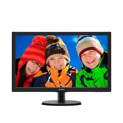 Monitor LED Philips 223V5LHSB/00 21.5'' Full HD Negru