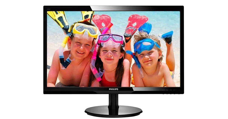 Monitor LED Philips 246V5LSB/00 24 Full HD Negru