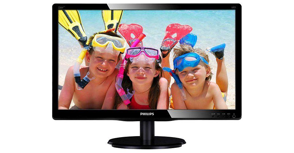 Monitor LED Philips 226V4LAB/00 21.5 Full HD Negru